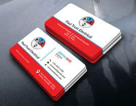 nº 54 pour Design some Business Cards For an Electrical Business par robeulhoque