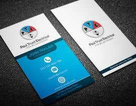 #77 for Design some Business Cards For an Electrical Business by khansatej1