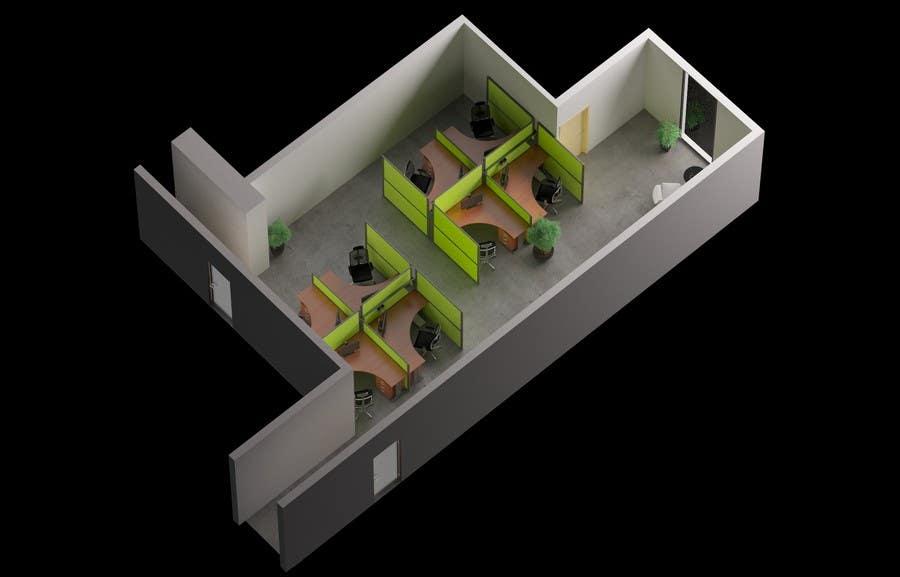 Proposition n°6 du concours workspace design