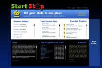 Graphic Design Konkurrenceindlæg #29 for Website Design for startstop.me