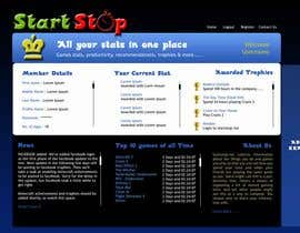 #29 para Website Design for startstop.me de Mamshad