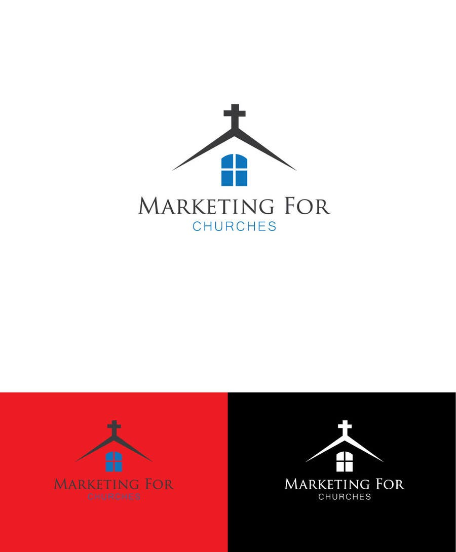 """Proposition n°36 du concours Design a Logo for """"Marketing for Churches"""""""