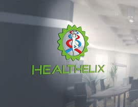 #713 for healthelix logo design contest by darkoosk