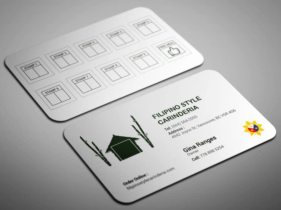 Kilpailutyö #                                        13                                      kilpailussa                                         Design some Business Stamp Cards
