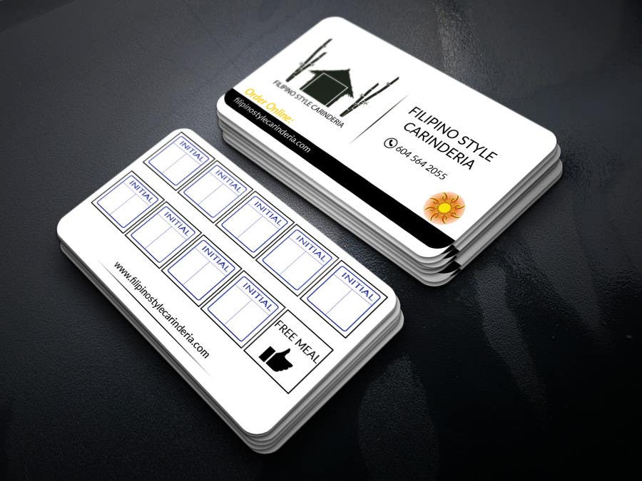 Kilpailutyö #                                        10                                      kilpailussa                                         Design some Business Stamp Cards