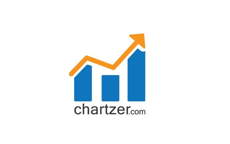 Kilpailutyö #                                        52                                      kilpailussa                                         logo for chartzer.com