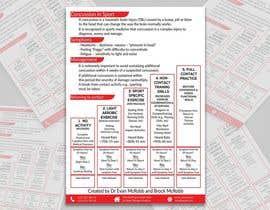 Nro 39 kilpailuun information flyer design käyttäjältä monir7554