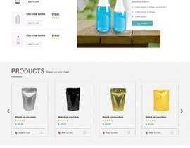 nº 7 pour Green Hills Website mockups par webmastersud