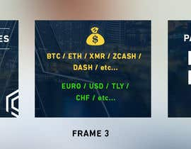 nº 3 pour Banner Design for Cryptocurrencie Exchange par ducdungbui