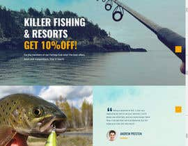 nº 15 pour Design a Website Template with a Fishing Theme par fb5512433f6ae44
