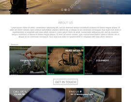 nº 22 pour Design a Website Template with a Fishing Theme par meva25