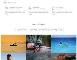 #12 for Design a Website Template with a Fishing Theme by imohchard
