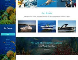 nº 17 pour Design a Website Template with a Fishing Theme par thiyagarajantks