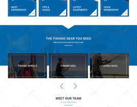 nº 26 pour Design a Website Template with a Fishing Theme par doomshellsl