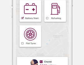 #6 for Roadside assistance (Two App Screens) by fauzifau