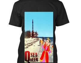 nº 17 pour Seashell t-shirt design par prantasarkar