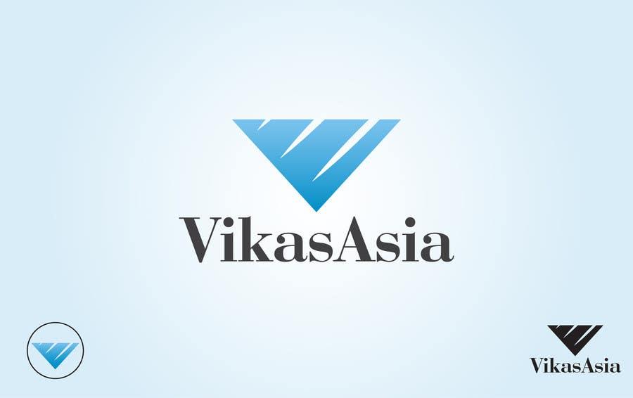 Proposition n°8 du concours Vikas Asia Logo