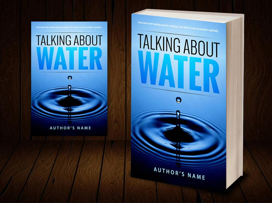 Book Cover Graphism Url ~ Book cover design for water sanitation freelancer