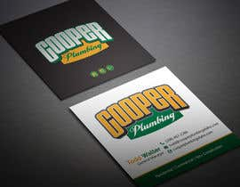 nº 2 pour Cooper Plumbing Business Cards (and future marketing design work) par BikashBapon