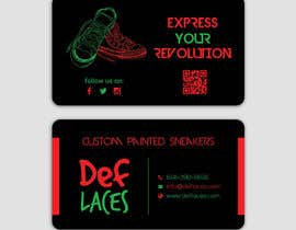 #37 for Def Laces Business Card-Redesign by smartghart