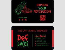 nº 43 pour Def Laces Business Card-Redesign par smartghart