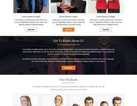 nº 31 pour Apparel site design par ravinderss2014