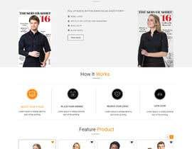 nº 30 pour Apparel site design par Webicules