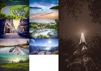 Proposition n° 60 du concours Photoshop pour Retouch and transform landscape images
