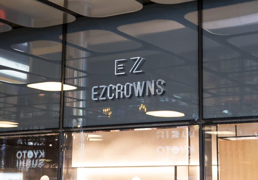 Kilpailutyö #                                        65                                      kilpailussa                                         eZCrown Logo