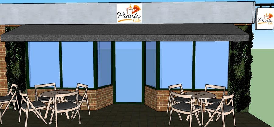 Proposition n°25 du concours CREATIVE  DESIGN  FOR  PIZZA  CAFE  APPEARANCE