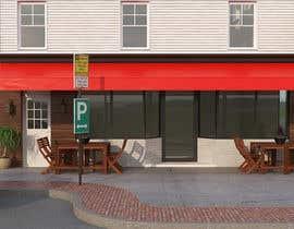 nº 24 pour CREATIVE  DESIGN  FOR  PIZZA  CAFE  APPEARANCE par mdpontes