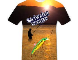 #34 for Design a fishing related shirt and logo by bkrishan46
