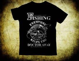 #24 for Design a fishing related shirt and logo by teecreative20