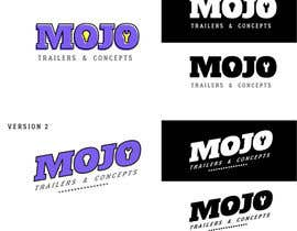 nº 214 pour Logo design for a foodtruck branding company (www.mojotrailers.com) par germandresr