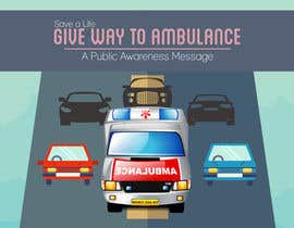 #30 for Ambulance Poster Designing by kimcuteching7671