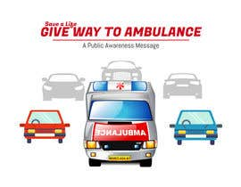#31 for Ambulance Poster Designing by kimcuteching7671
