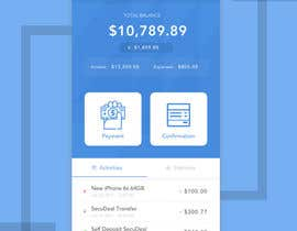 nº 39 pour Design an App Mockup 1 Screen only par deditrihermanto