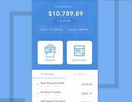 #39 para Design an App Mockup 1 Screen only de deditrihermanto