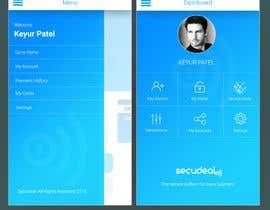 #28 para Design an App Mockup 1 Screen only de brandspixel
