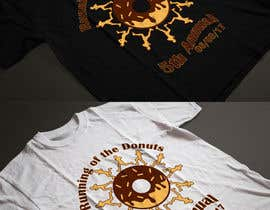 nº 12 pour Design a T-shirt for the 5th Annual Running of the Donuts par Exer1976