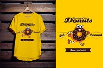 Proposition n° 53 du concours Graphic Design pour Design a T-shirt for the 5th Annual Running of the Donuts