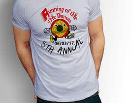 #44 for Design a T-shirt for the 5th Annual Running of the Donuts by RafeursDesign