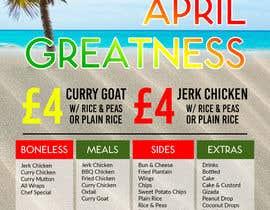 #7 for Jerk Vibes April Greatness Flyer by nikiramlogan