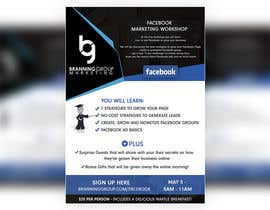 #24 for Design a Flyer for Facebook Marketing Workshop by syedanooshxaidi9