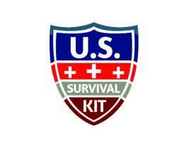 nº 28 pour Design a Logo US Survival Kit par mihirsumon