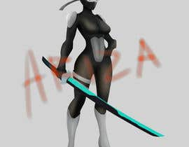 #22 for Design our female ninja mascot by ArsyaVeranda