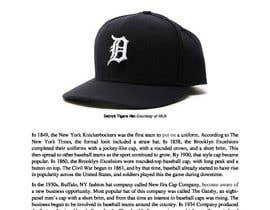 nº 5 pour The History of the baseball hat par drichie75