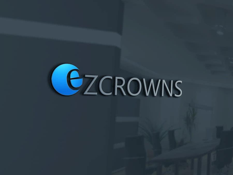 Kilpailutyö #                                        93                                      kilpailussa                                         Logo upgrade for eZCrowns Dental Lab