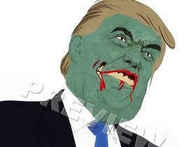 #14 for Make A Cartoon Zombie Version Of Popular Celebs by harool