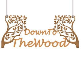 #52 para Design a logo-type sign that can be cut out of wood de aishaelsayed95